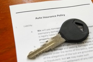 Auto Ins Policy with Key